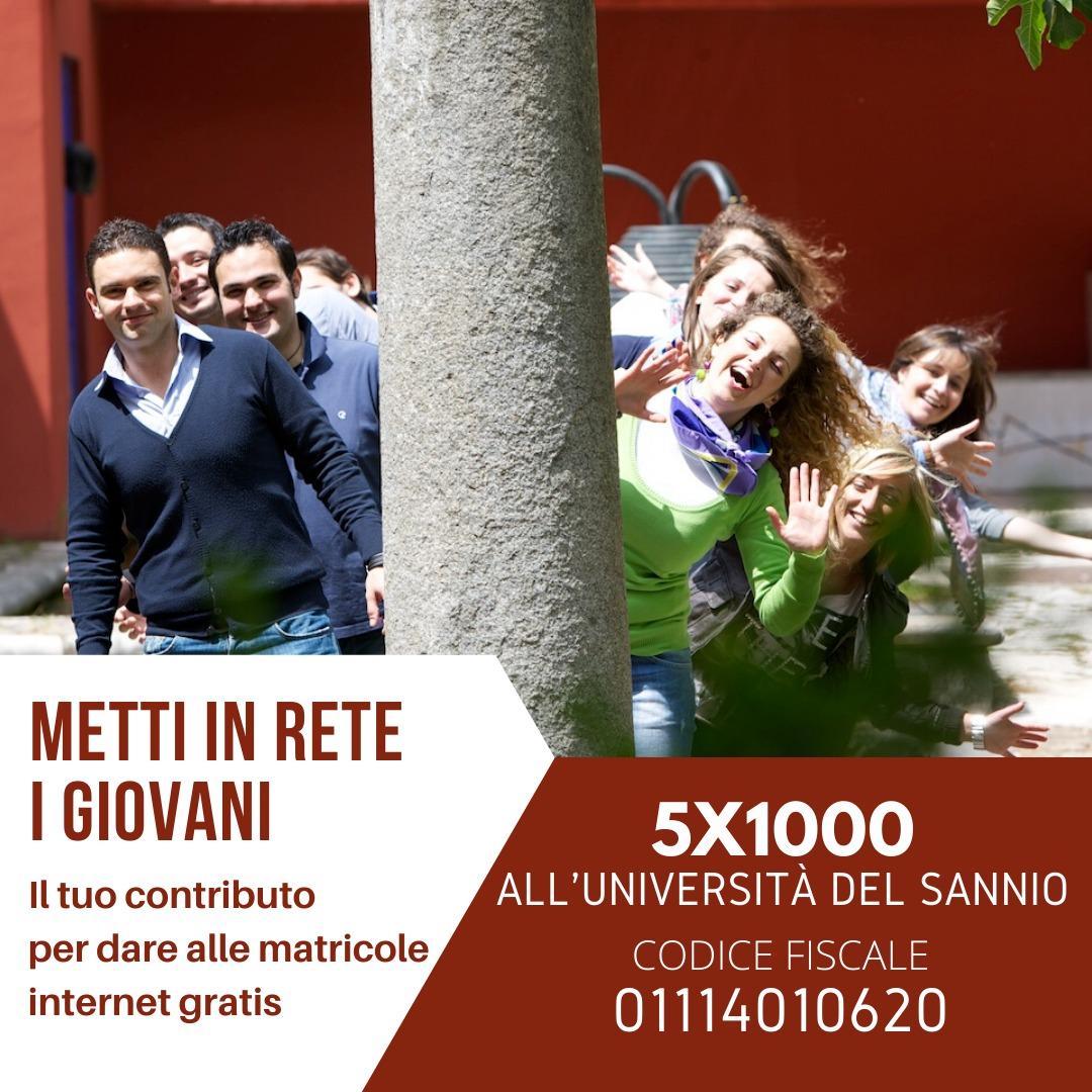 5x1000 all'Università degli Studi del Sannio