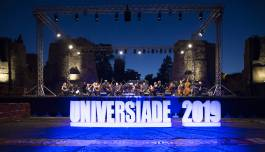 Universiade 2019 il concerto