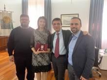 il rettore incontra Università Uzbeka Tashkent